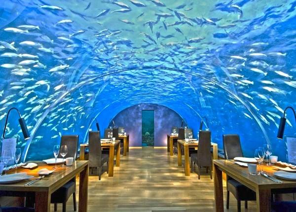 Ithaa Restaurant, Мальдивы