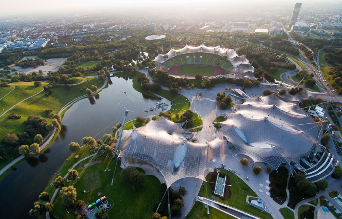 Захватывающий вид на Олимпийский парк