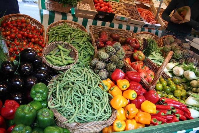 Рынок на бульваре Распай