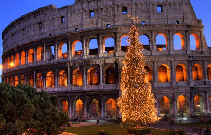 Новогодний Рим