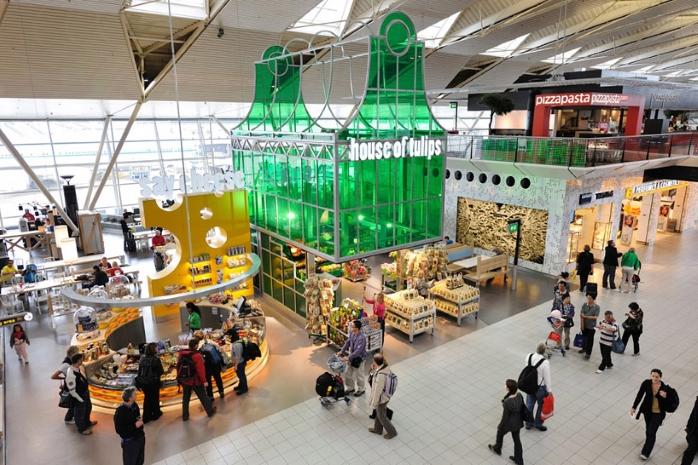 Незвичайні аеропорти : «Схіпхол»