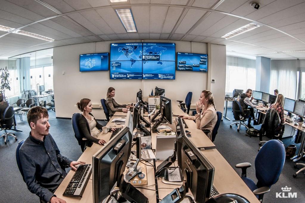 KLM-social-media-hub