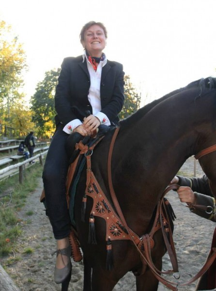 Светлана на коне