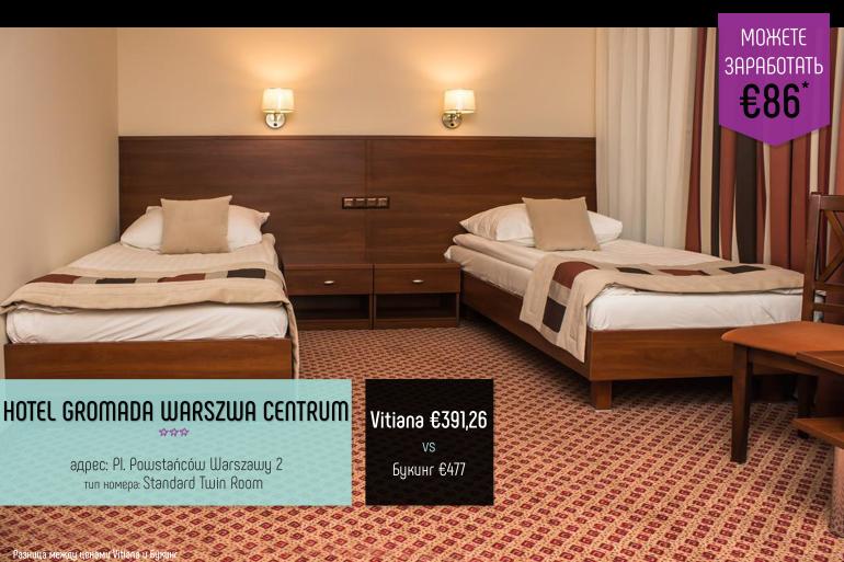 Hotel Gromada Warszwa Centrum