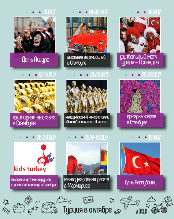 Турция в октябре