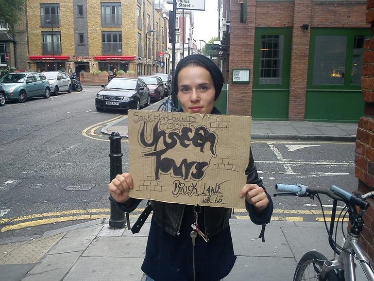 Экскурсии с бездомными