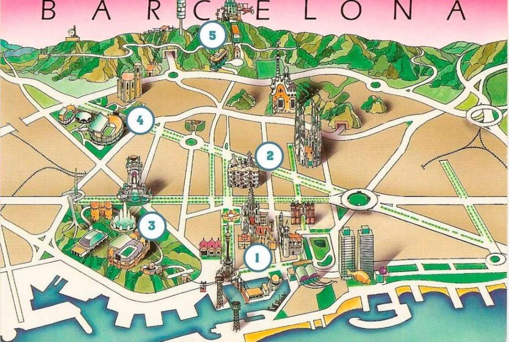 barselona map