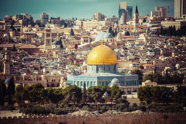 Купол Скалы на Храмовой горе - священное место как для иудеев, так и для арабов
