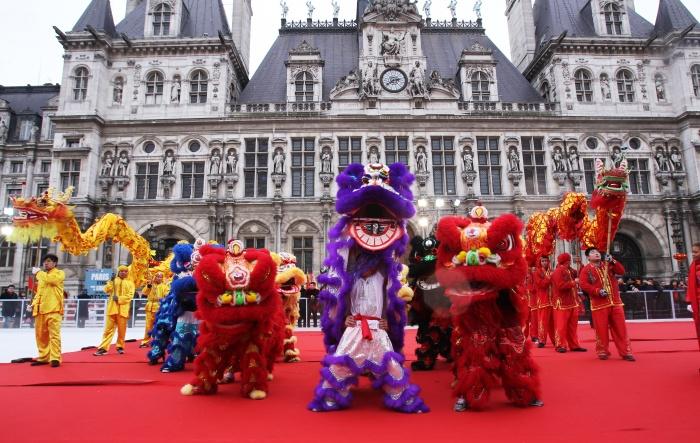 Самый большой в Европе азиатский квартал (Quartier asiatique de Paris) находится между проспектов Иври и де Шаузи в Париже.