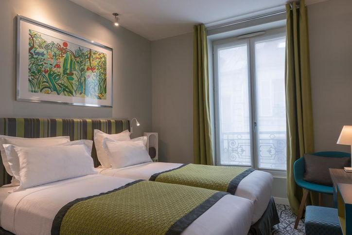 Отель в Париже Le Mareuil