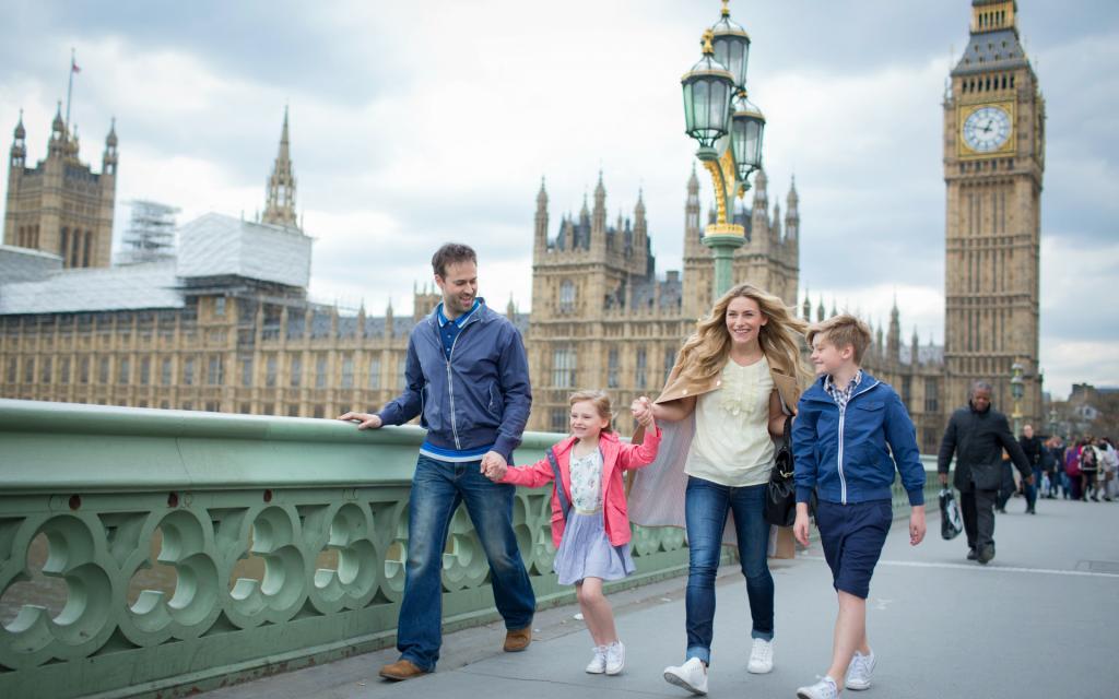 лондон семья