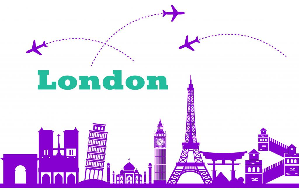 как комбинировать Лондон