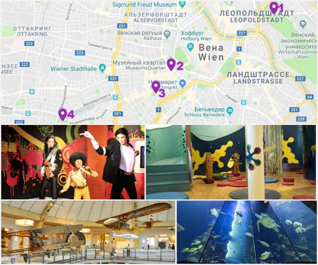детские музеи вена